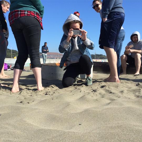 Photo of Ocean Beach, San Francisco, Big Health Q1 Summit '16